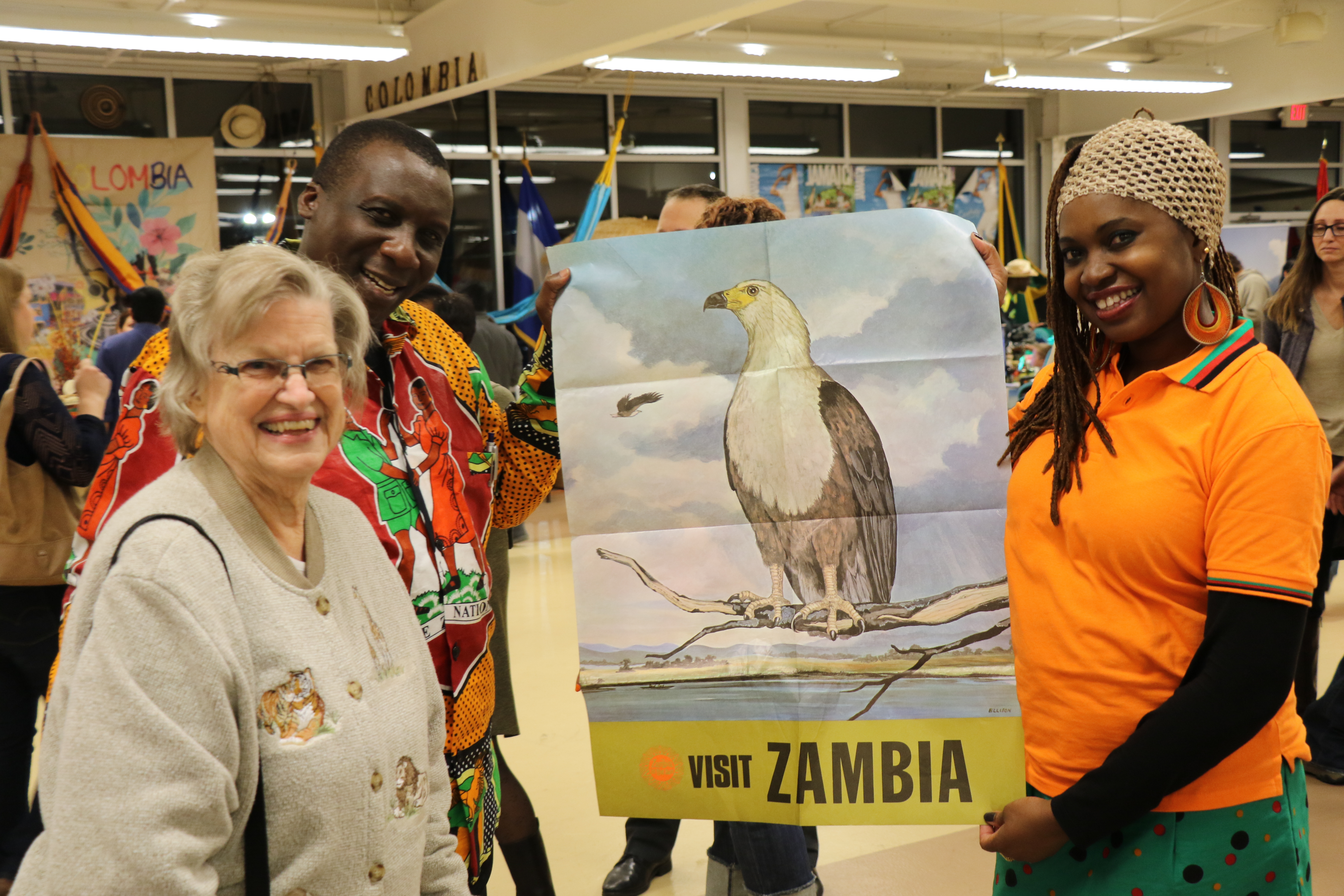 D Exhibition Zambia : Exhibiting at carlisle expo centre embassy of the